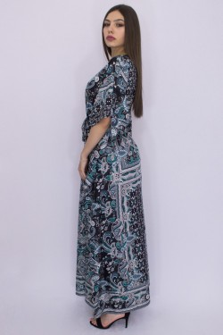 Rochie lunga stil fluture