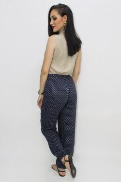 Pantaloni din vascoza tip harem 1